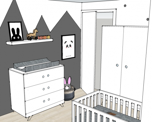 The Restyling babykamer kinderkamer styling interieur ontwerp kleuradvies maatwerk