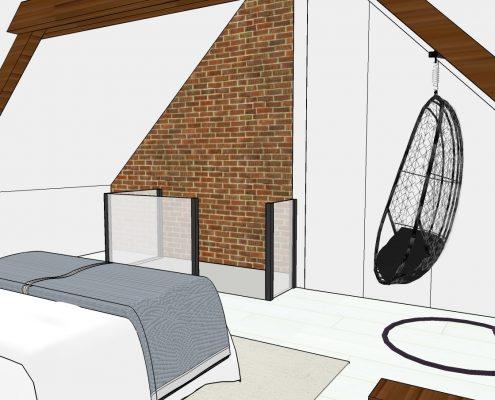 The Restyling interieuradvies industrieel landelijk master bedroom